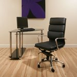 View Item Office Chair Black Executive Ergonomic Modern Designer