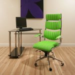 View Item Executive Office Chiar Green Ergonomic Modern Comfortable Designer 360