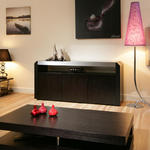 View Item Oak Sideboard/Cabinet/Buffet in Black Oak 1.7mtr 701M