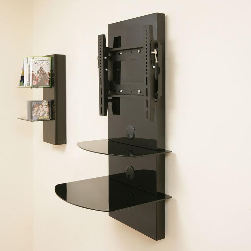 TV Wall Mount Bracket Shelves TILT VESA LCD Up To32
