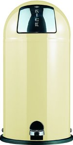 View Item WESCO KICKBOY 40 Ltr FOOT PEDAL BIN in ALMOND