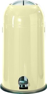 View Item WESCO KICKMASTER 33 Ltr KITCHEN BIN in ALMOND