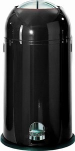 View Item WESCO KICKMASTER 33 Ltr KITCHEN BIN in BLACK