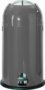 View Item WESCO KICKMASTER 33 Ltr KITCHEN BIN in GRAPHITE