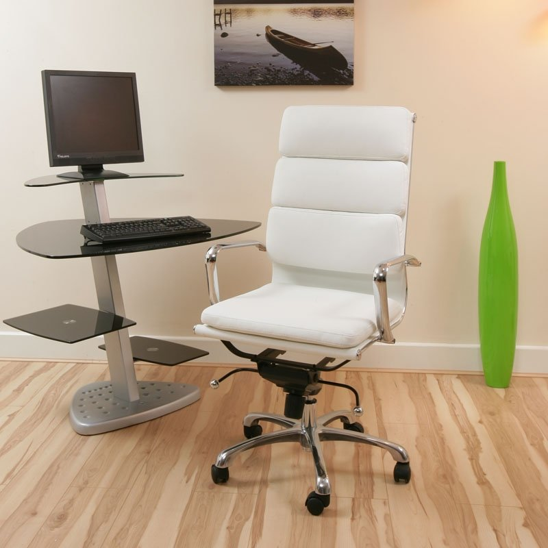 White Office Chair & COMPUTER CHAIR: White Office Chair