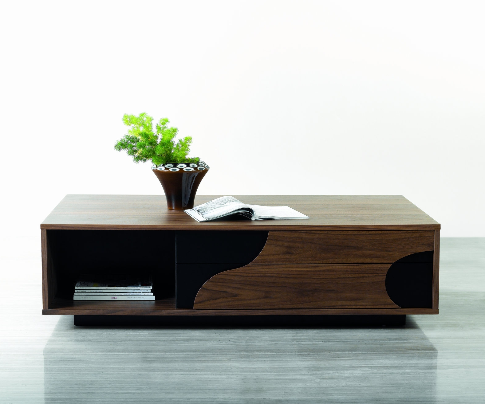Coffee Table Elm Ultra Modern Rectangular 107 Ebay