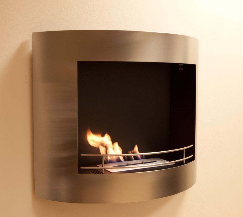 Bioethanol Fireplace Fuel Milan Wall Mounted BiBio