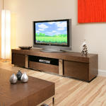 View Item Large TV/Television Cabinet/Entertainment Unit/Center Elm Wood 912