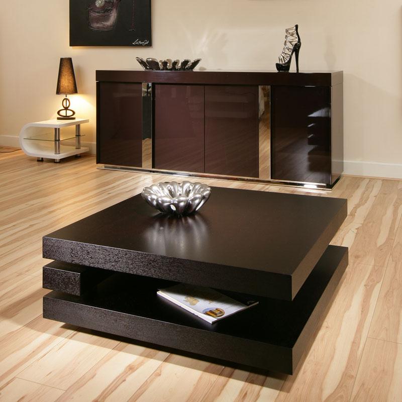 Coffee End Side Lamp Table Square Black Oak Modern Designer 97e Ebay