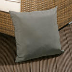 View Item Large Luxury Outdoor/Garden Scatter Cushion in Grey for Sofa/Armchair