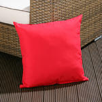 View Item Large Luxury Outdoor/Garden Scatter Cushion in Red for Sofa/Armchair