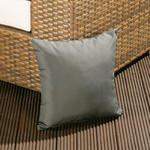 View Item Luxury Outdoor / Garden Scatter Cushion in Grey for Sofa / Armchair