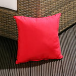 View Item Luxury Outdoor / Garden Scatter Cushion in Red for Sofa / Armchair