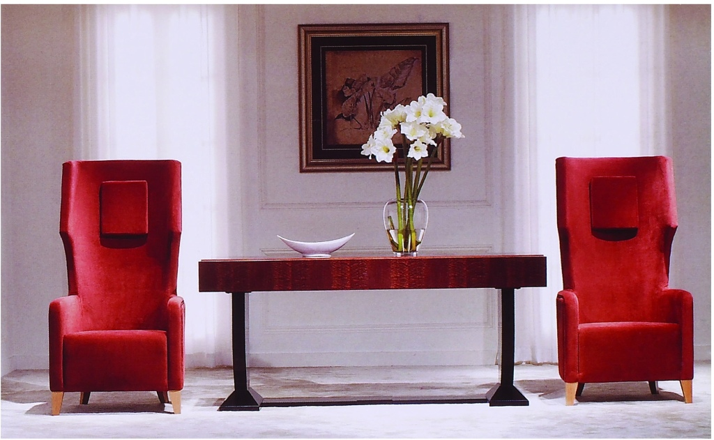 Hotel Foyer Table : Large console hall occasional table hotel lobby solid wood