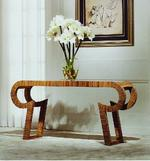View Item Large Console/Hall/Occasional Table Hotel Lobby Solid Wood/Wooden 1608