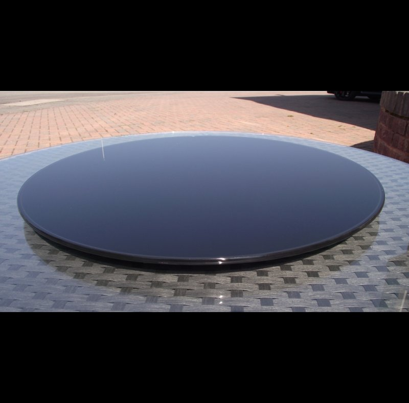 glass patio table lazy susan 28 images large outdoor  : lazy20susan20black20600mm205 from americanhomesforsale.us size 800 x 789 jpeg 90kB