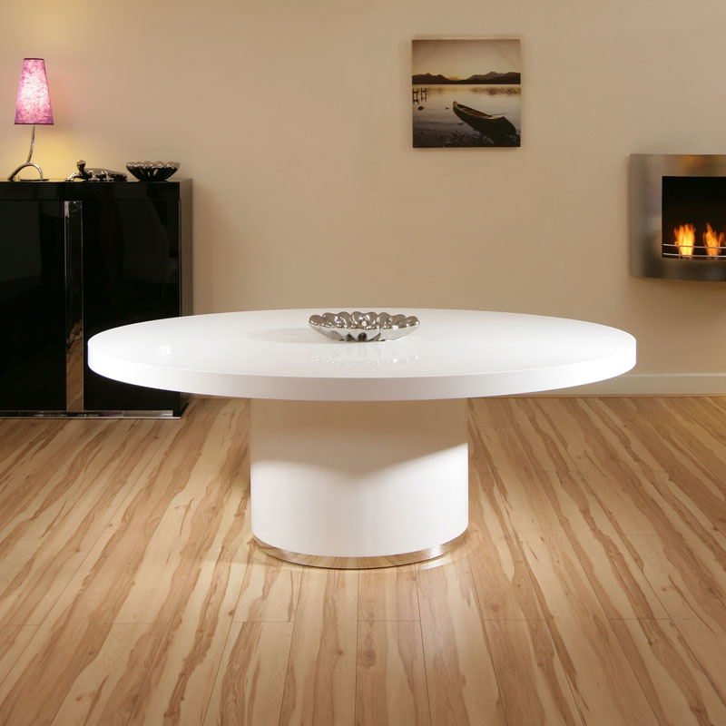 Modern Luxury Large Oval White Gloss DiningBoardroom  : 850TOHB52LR1 from ebay.co.uk size 800 x 800 jpeg 92kB
