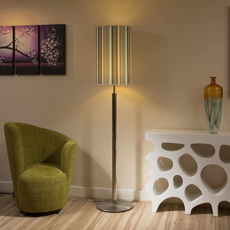Floor Lamp Lamp Shades: Mix And Match Green Floor Lamp Shade The Land Of Nod,Lighting