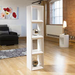 View Item Modern White Gloss Large Storage Unit/Cupboard/Cube/Cabinet/Rack 2015L