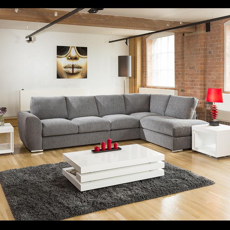 Extra Large L Shape Sofa Set Settee Corner Group 335x210cm