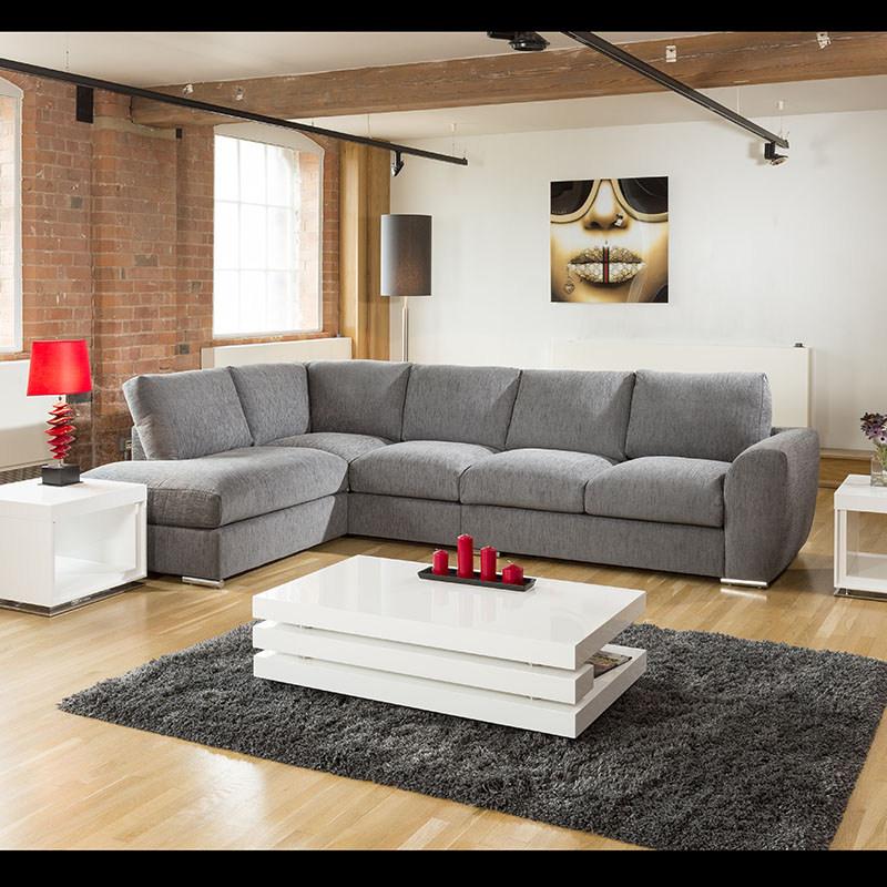 Large Corner Sofas Ebay Uk: Extra Large L Shape Sofa Set Settee Corner Group 335x210cm