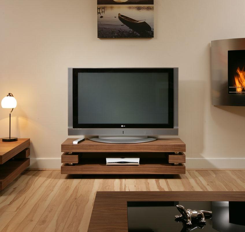 Sentinel Modern Quatropi Designer Tv Cabinet Television Stand Elm Stunning 397f