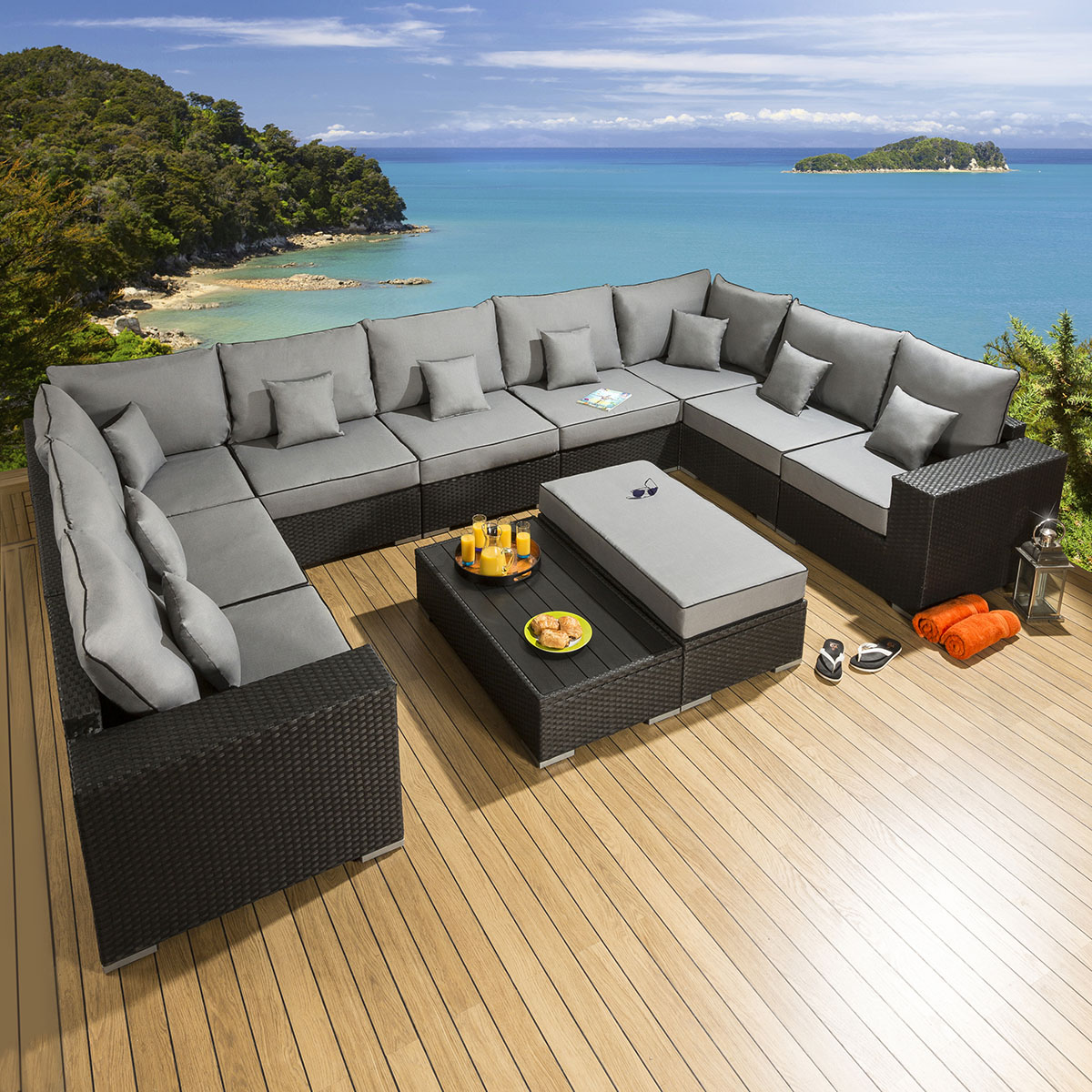 large outdoor sofa outdoor couch pillows lrqlt. Black Bedroom Furniture Sets. Home Design Ideas