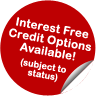 Interest Free Credit Options Available!