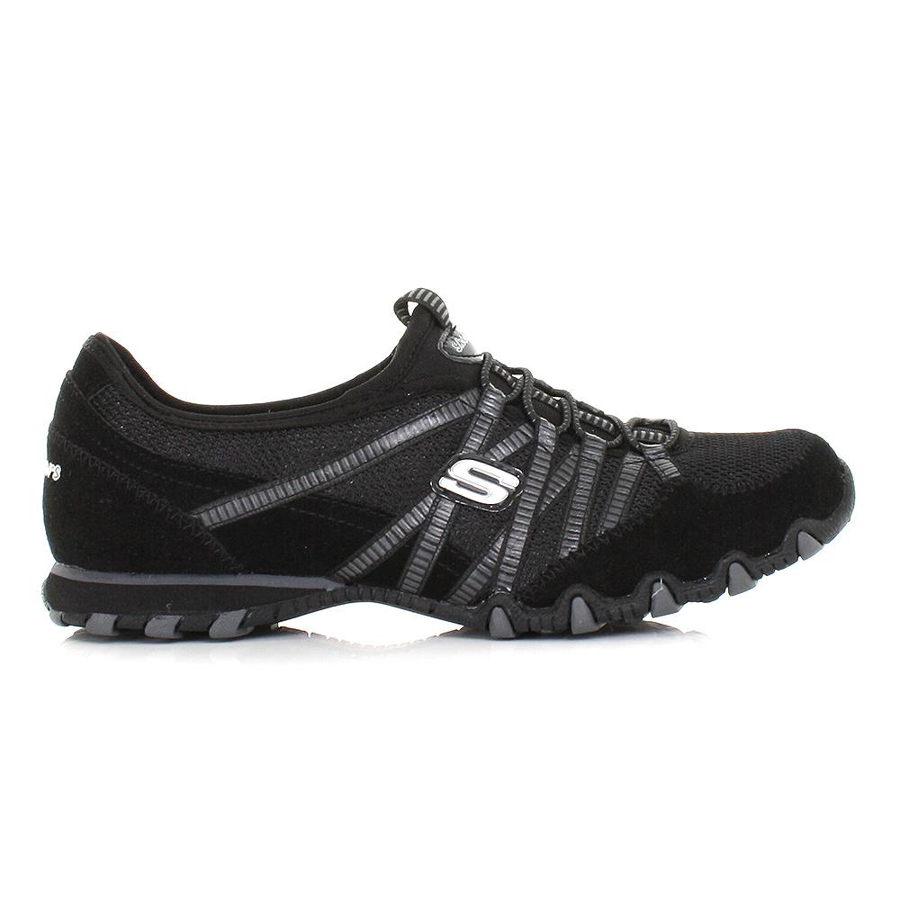 Skechers Bikers Black Shoes