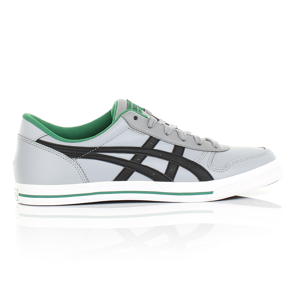 asics aaron grey green
