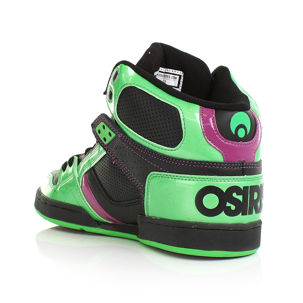 Green Osiris Shoes High Tops Trainers Mens Nyc83 Lime