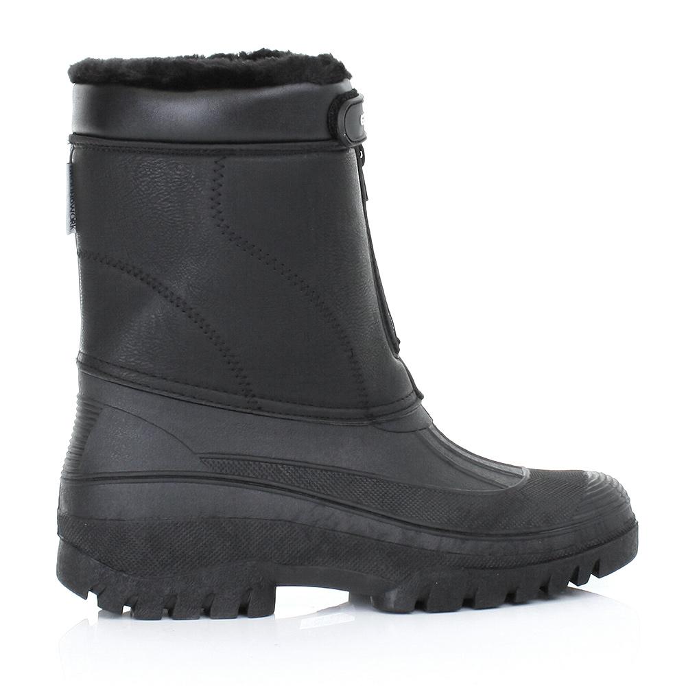 Hombres jard n compinche botas de agua c lido para - Botas de trabajo ...