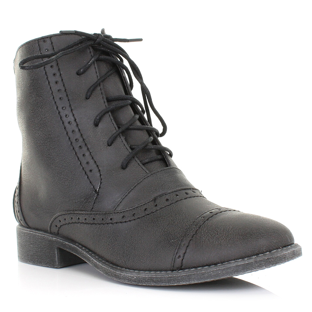 Buy Women Flat Heel Boots from ganjamoney.tk, Available in Leather, Suede, Synthetic Material Flat lace up Boots sales. flat black boots with bow, fashion and comfortable.