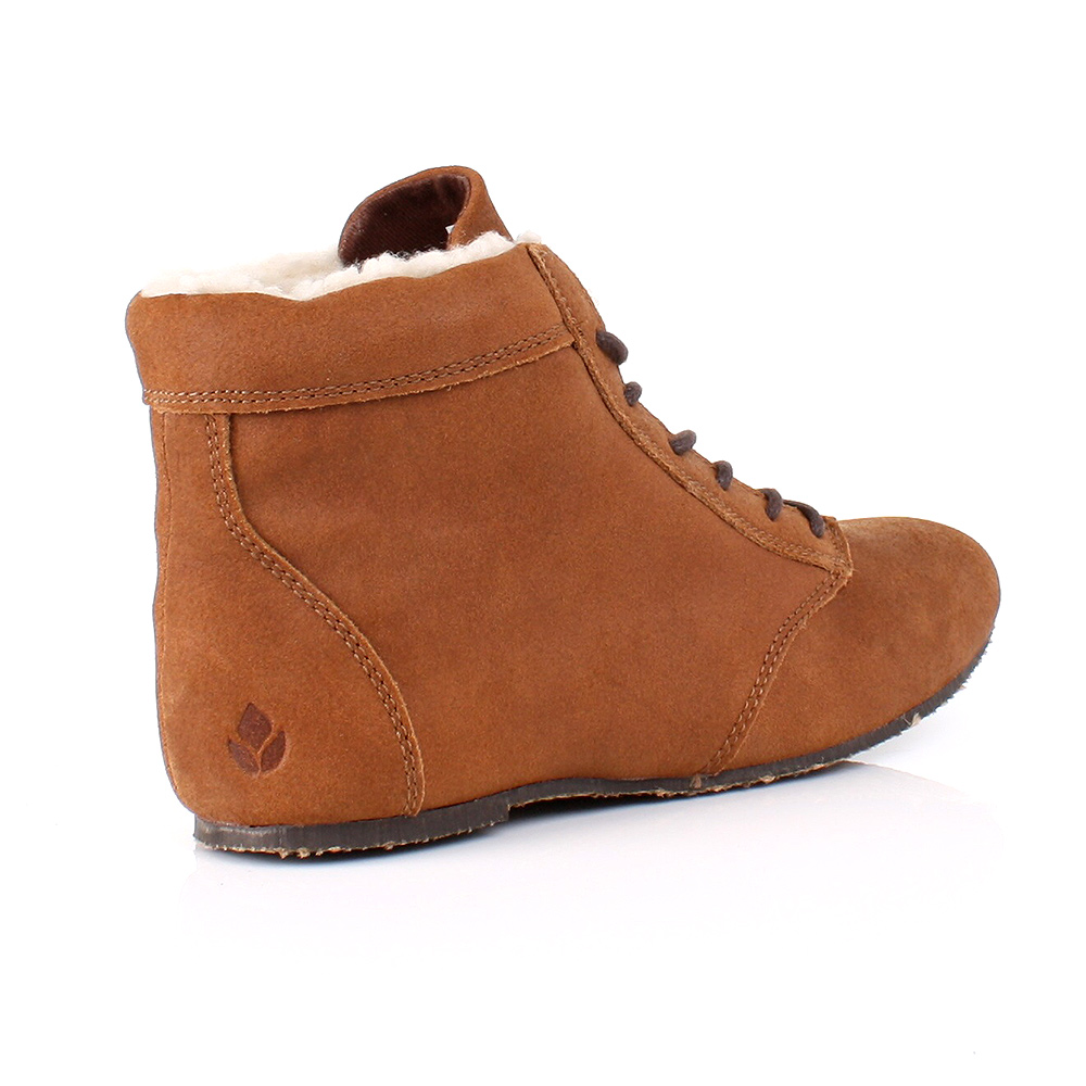 QUEST BROWN SUEDE LEATHER FUR LINED FLAT ANKLE BOOTS SIZE 3-8   eBayBrown Flat Ankle Boots