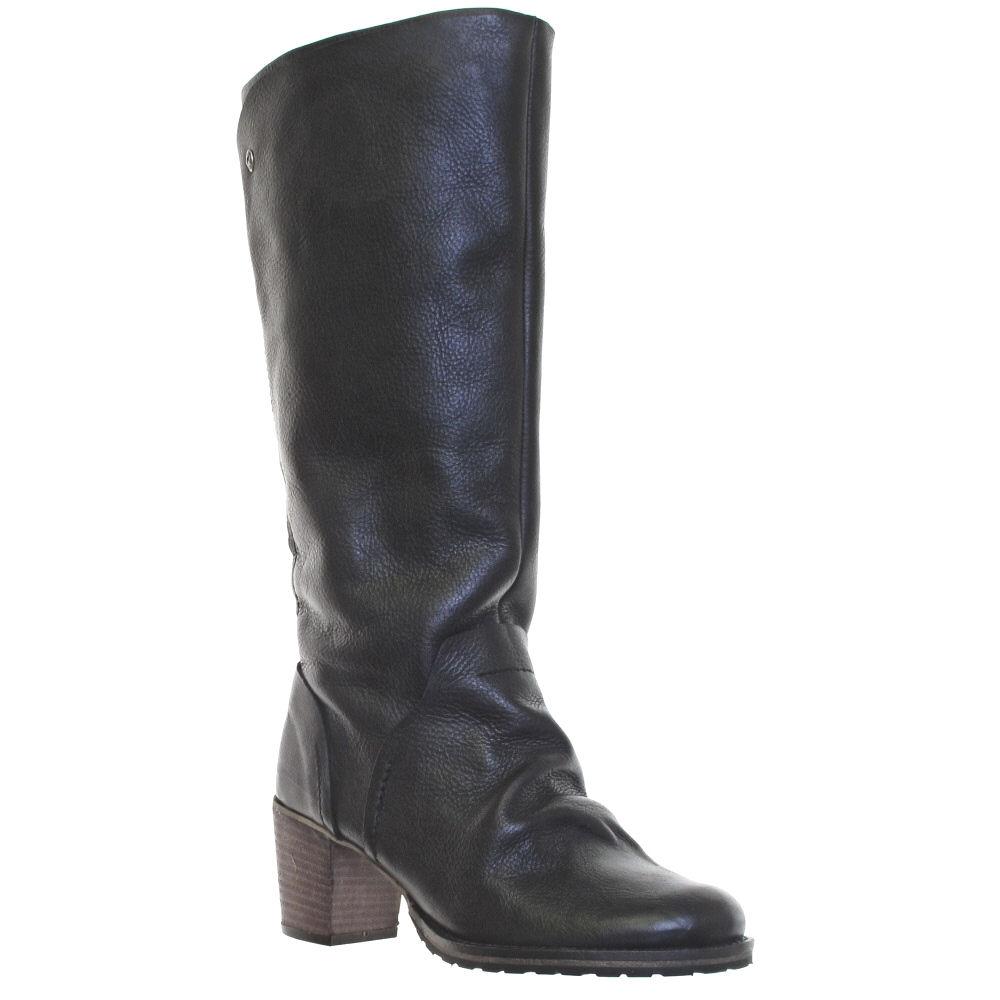 womens firetrap lara leather knee high boots size 3 8 ebay
