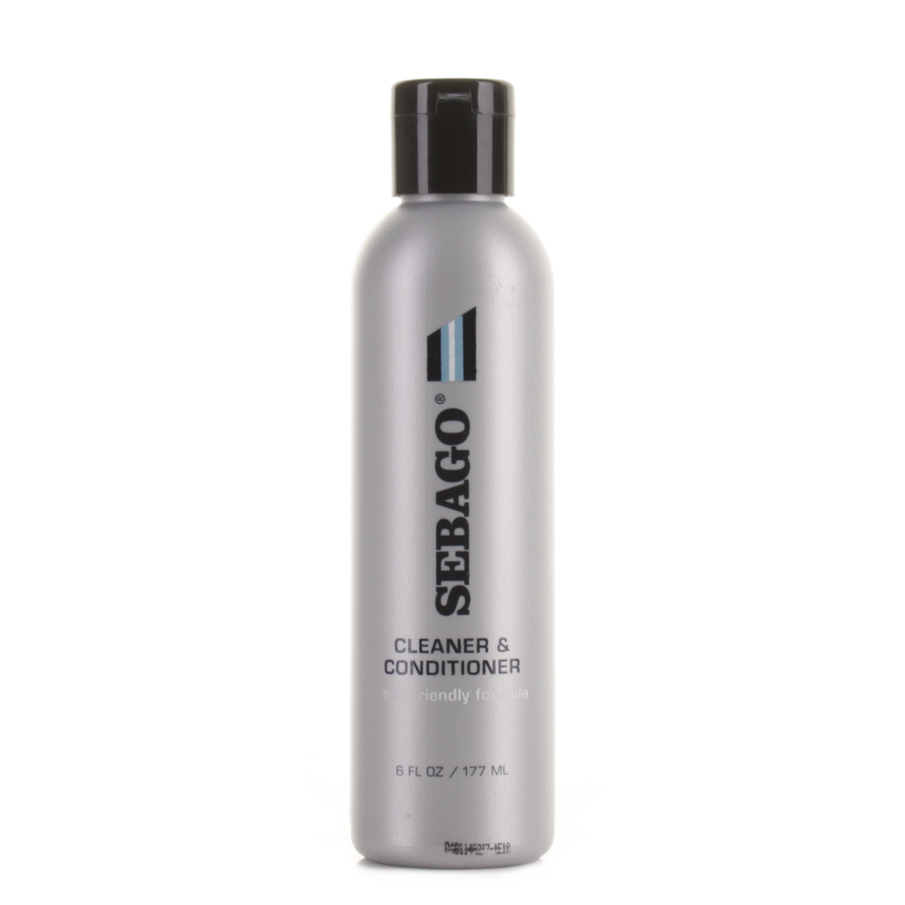 sebago cleaner and conditioner for smooth and