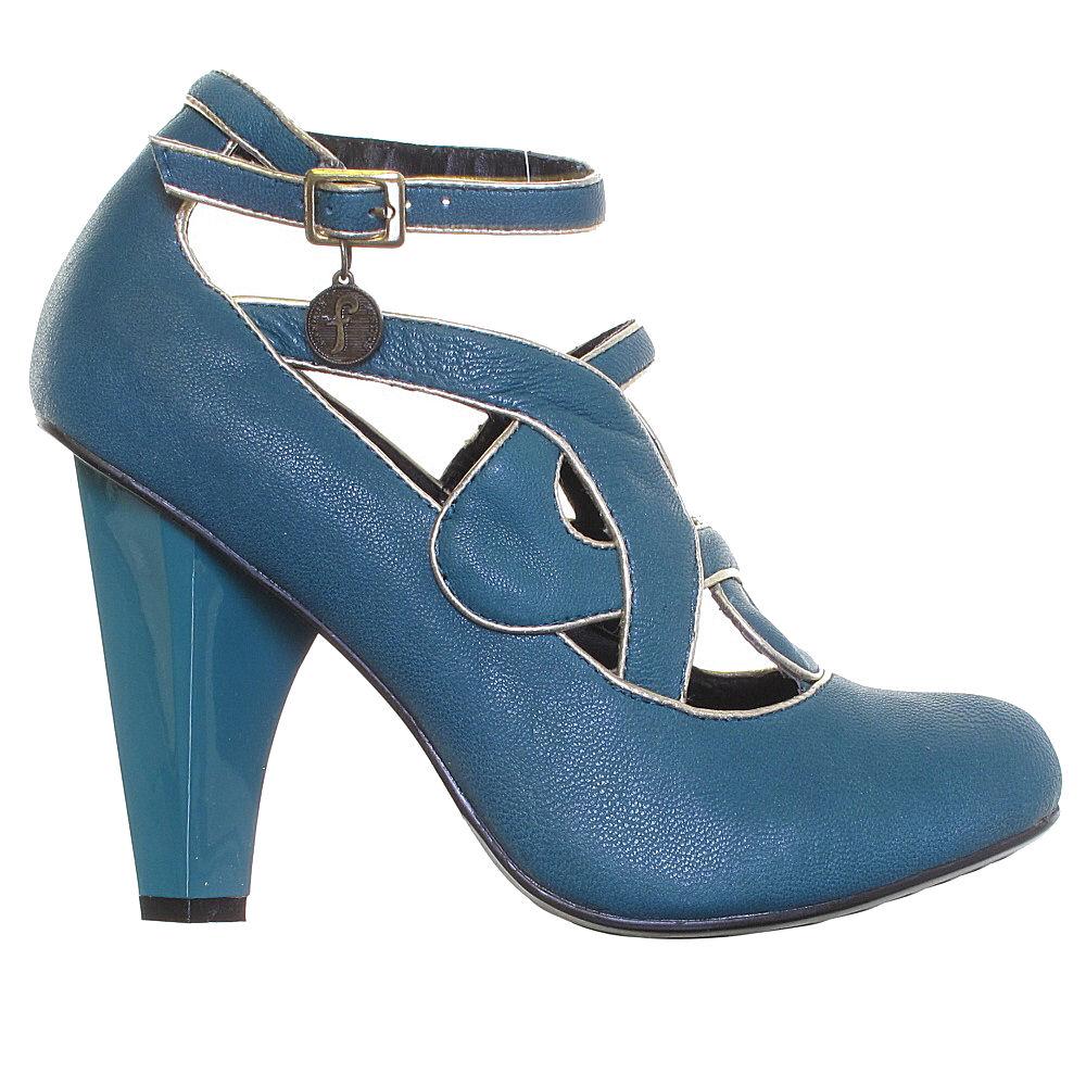 Mary Jane Court Shoes Unze