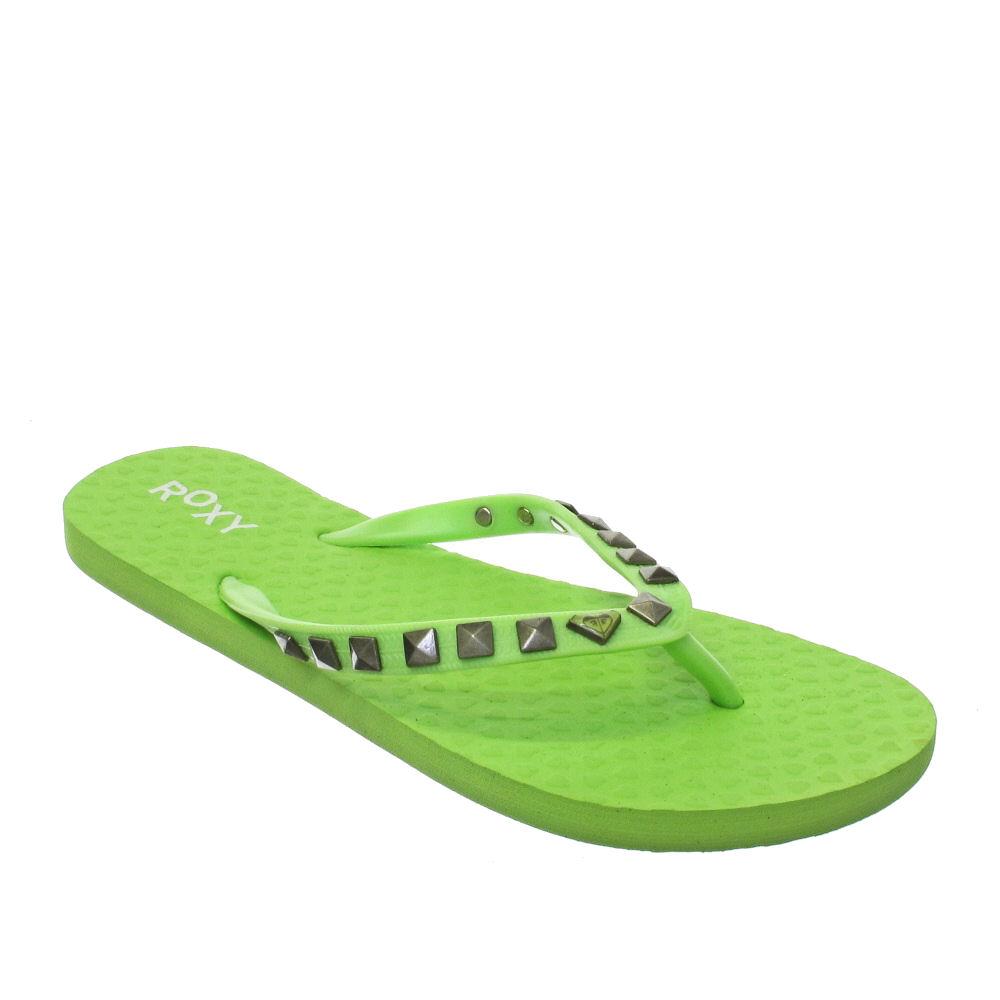 Damen Flip Flops mit Sandalen und Sandalen,Grün,36,