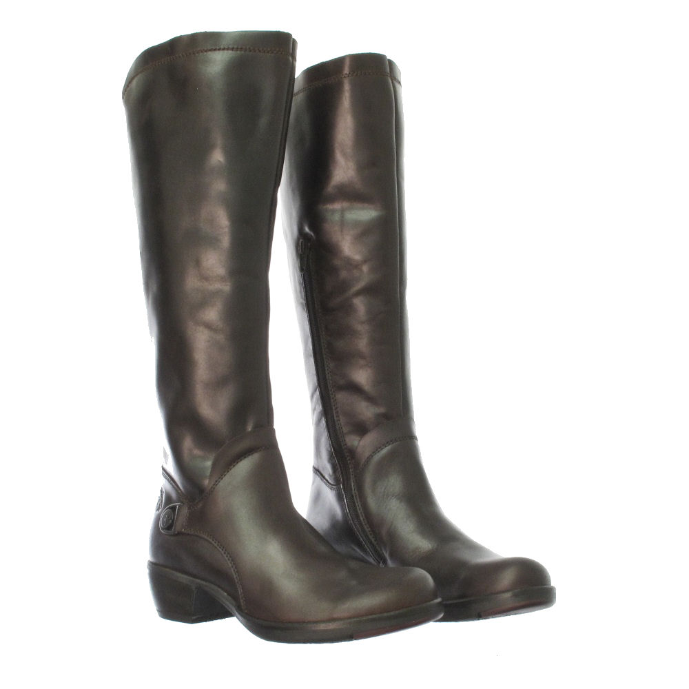 fly mistry leather brown boots size 3 8 ebay