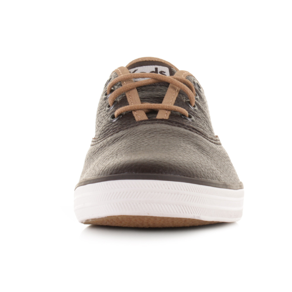keds brown leather shoes