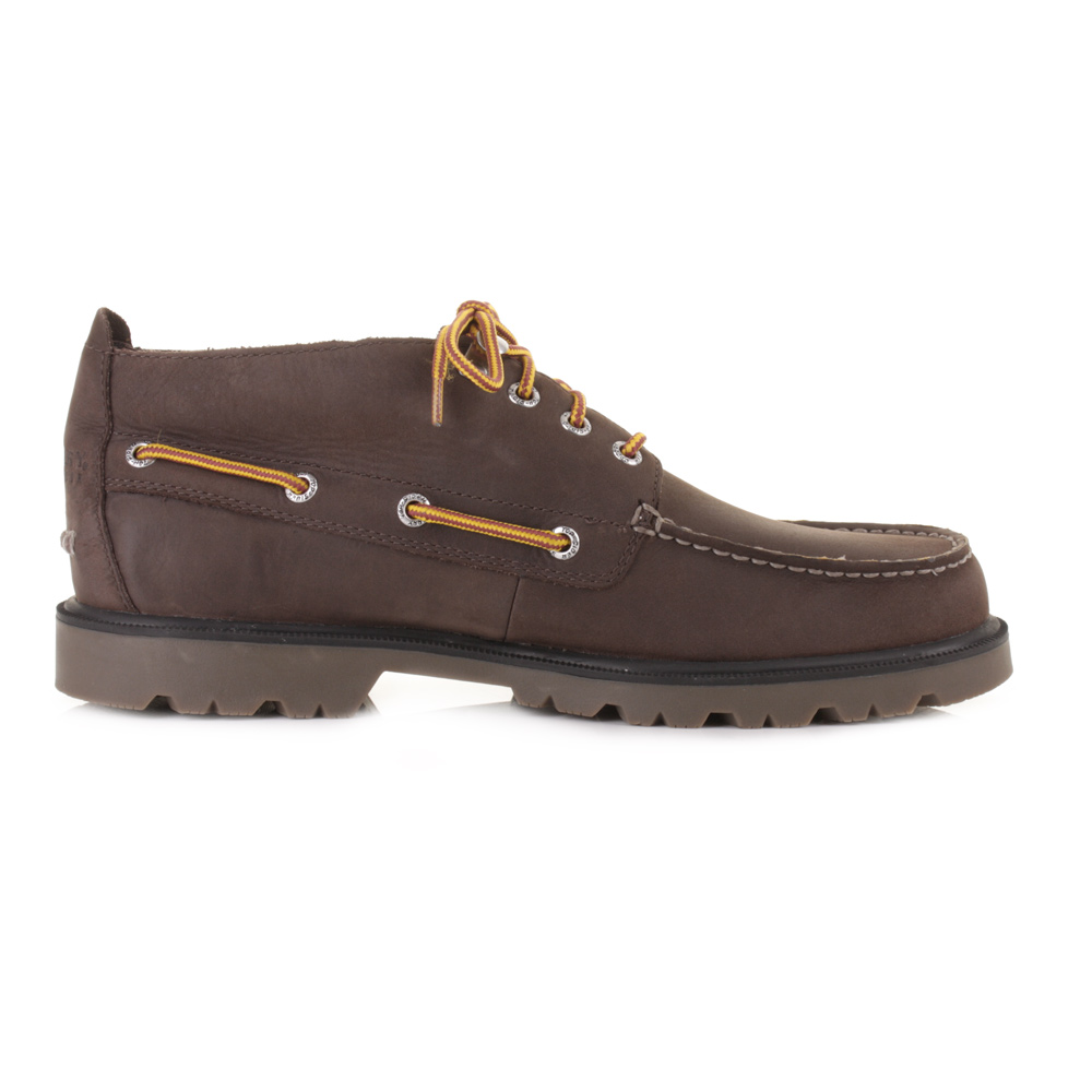 Sperry Top Sider Shoes Boat Lug Chukka Boots