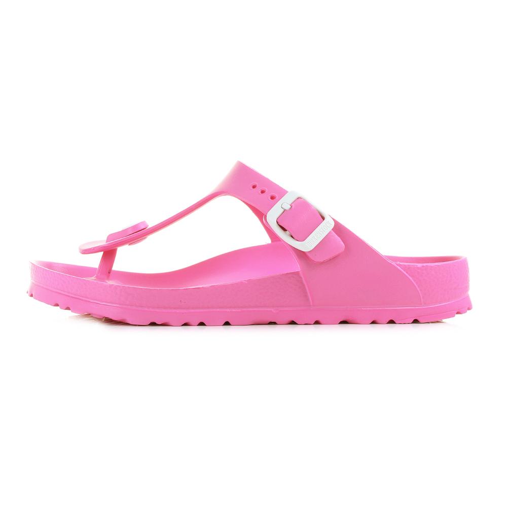 womens birkenstock gizeh normal fit eva neon pink. Black Bedroom Furniture Sets. Home Design Ideas