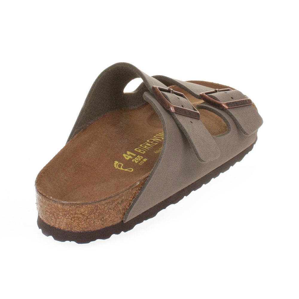 MENS BIRKENSTOCK ARIZONA STONE FLAT TWIN STRAP FOOTBED SANDALS SHOES SIZE | eBay