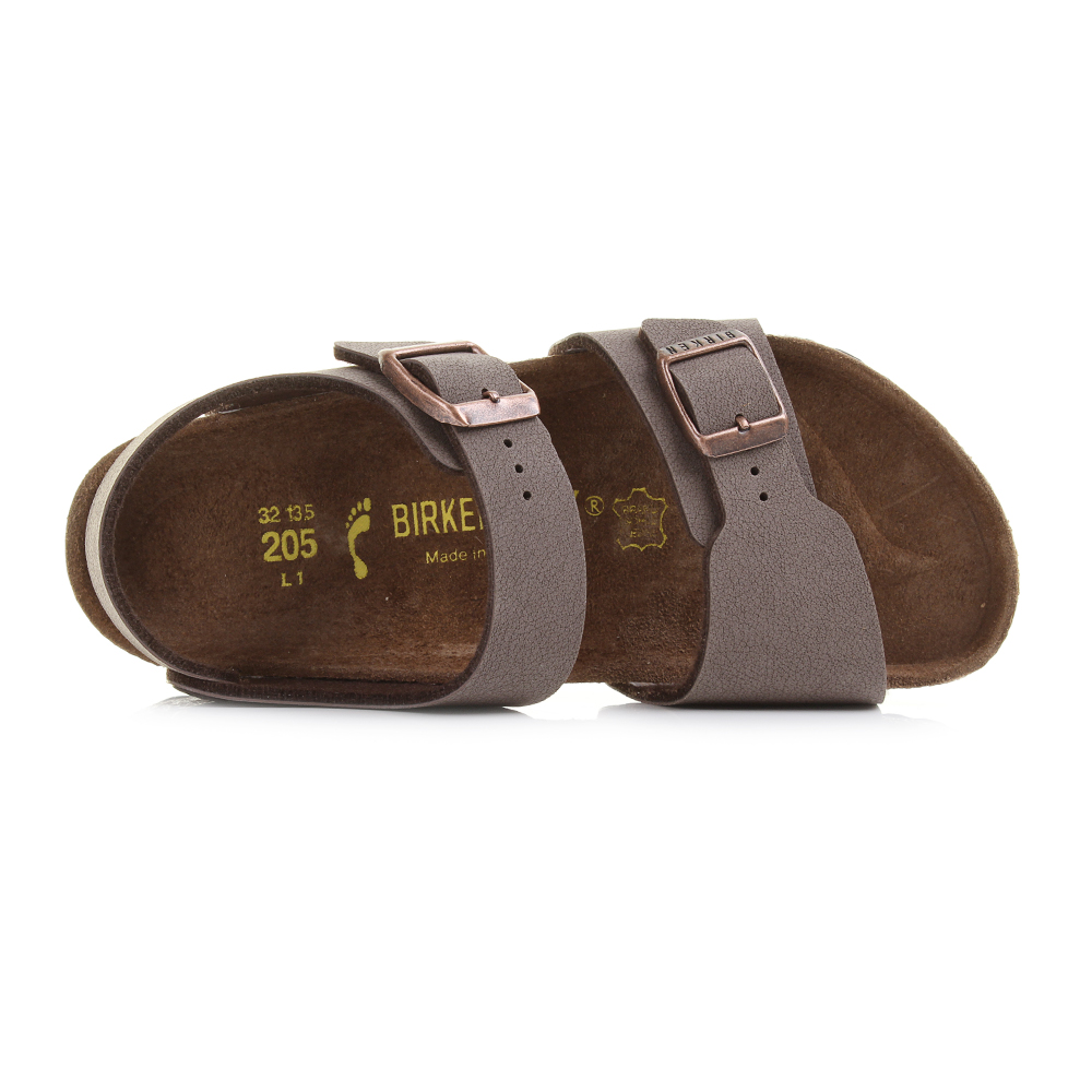 Kids Girls Boys Birkenstock New York Kinder Mocca