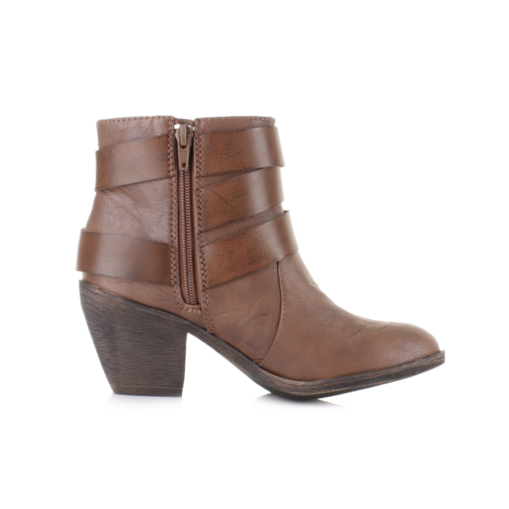 Innovative Details About Womens Ugg Brown Leather Ankle Boots Uk Size 55 Ex