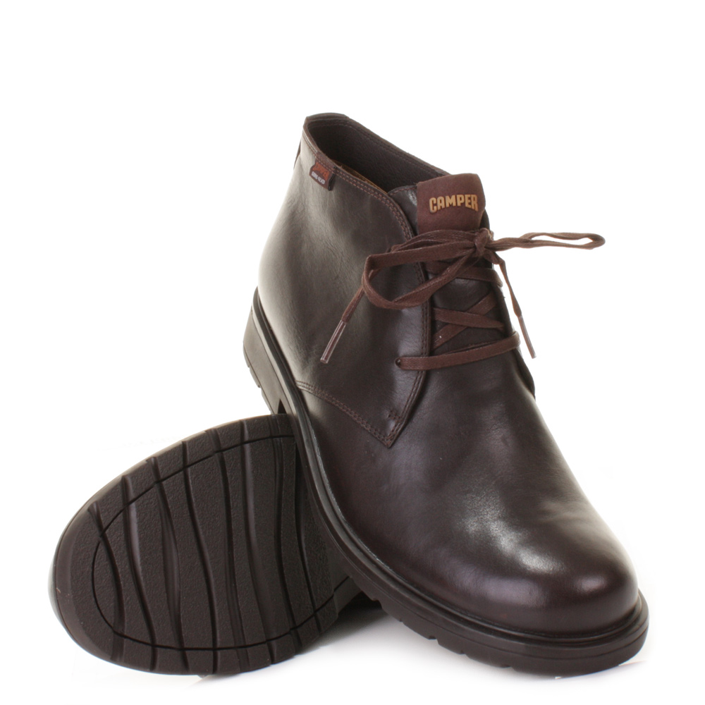 mens cer 1900 sonny kenia brown lace up leather ankle
