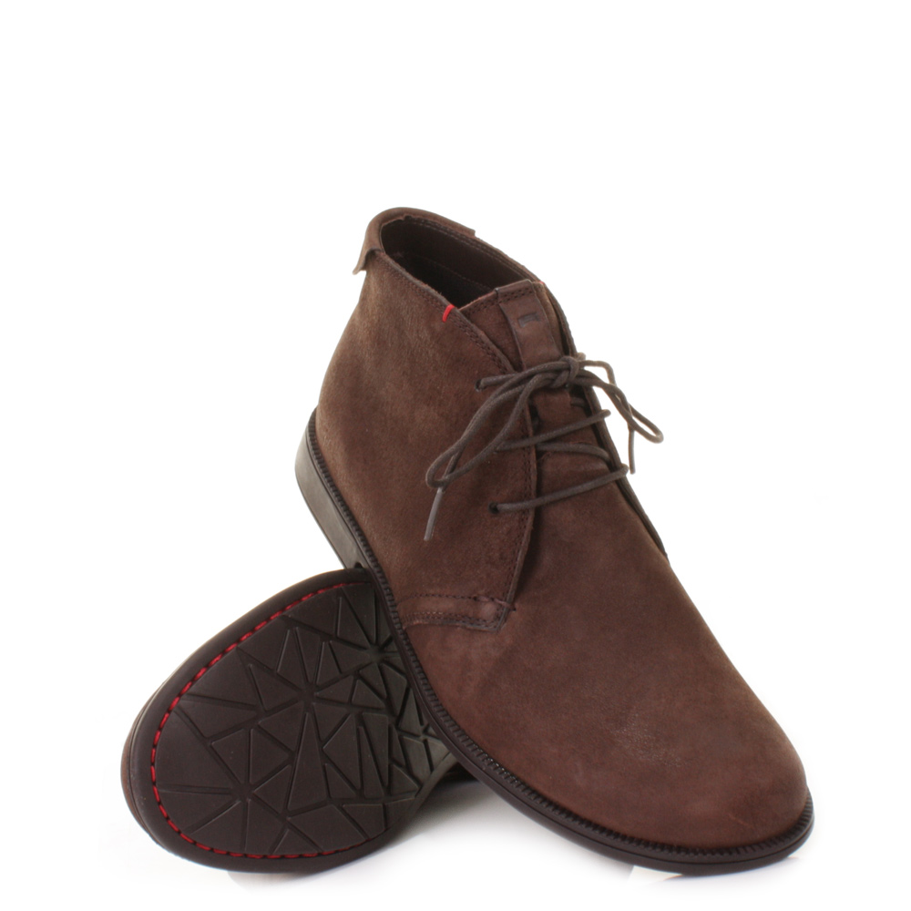 mens cer 1913 grunge kenia brown suede leather lace up