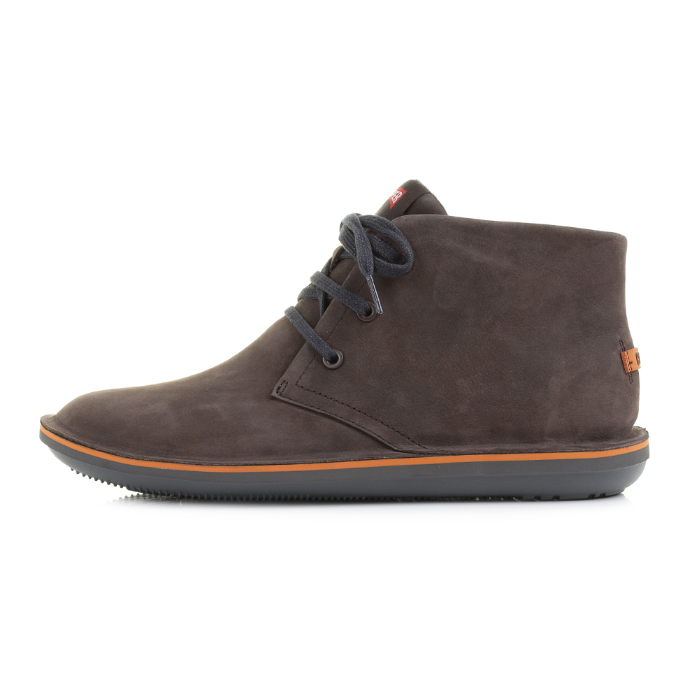 Mens Camper Beetle 36530 051 Kenia Brown Leather Lace Up