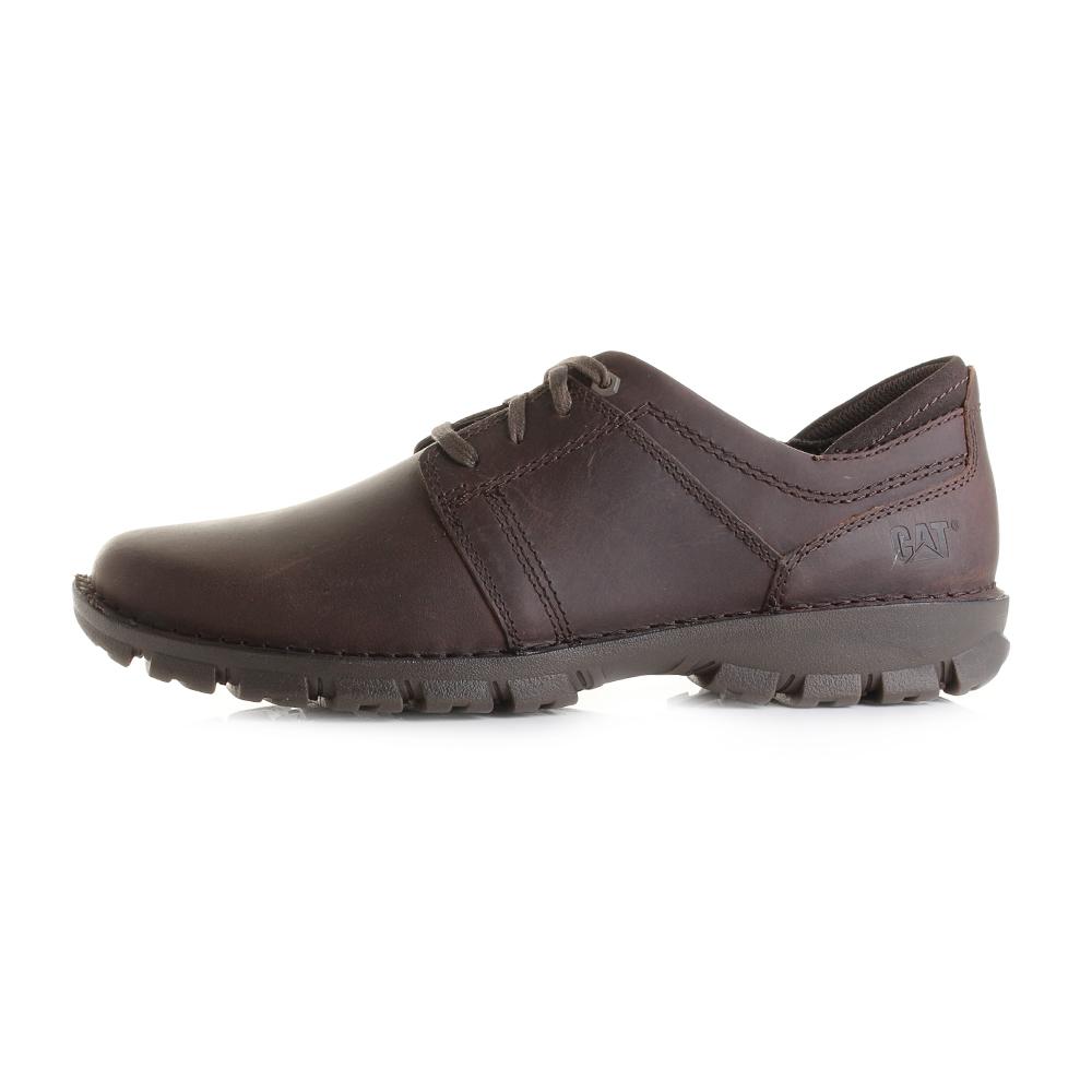 Caterpillar Caden Hombres Zapatos de cuero -Brown-45 ZegZQadVS