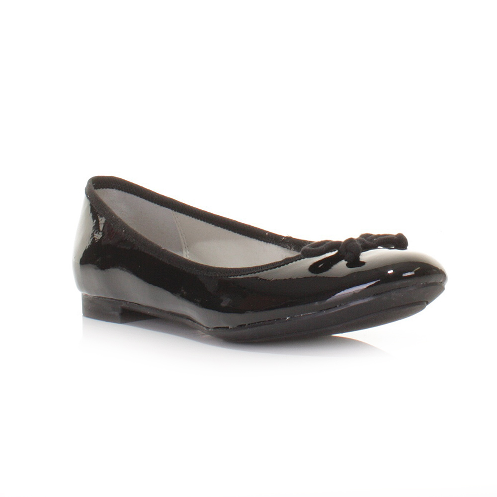 clarks ballerina pumps shoes carousel ride black